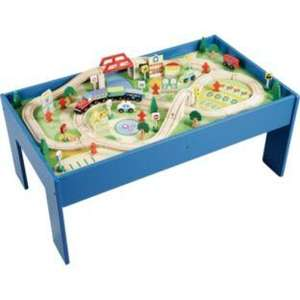 Chad Valley Wooden Table and 90 Piece Train Set £39.99 @ Argos