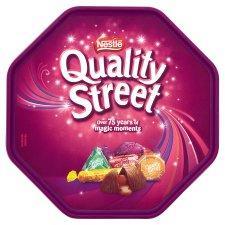 Quality Street Tub 820G £4 at tesco