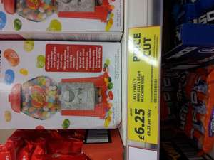 jelly belly machine reduced to £6.25 instore @ Tesco