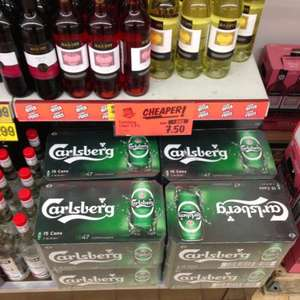15 x 440ml cans of Carlsberg - £7.50 @ Lidl