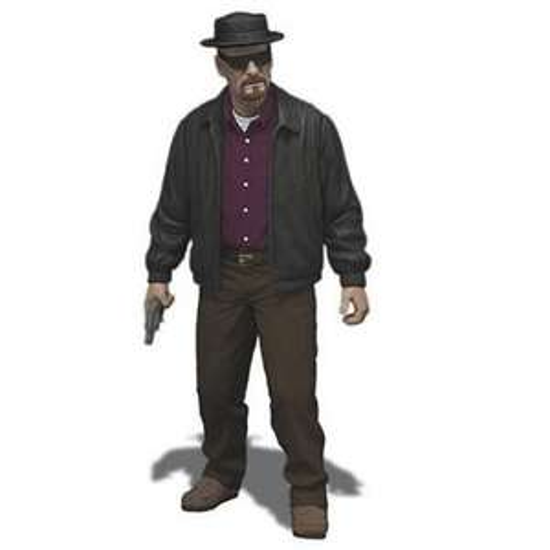 Breaking Bad 6 Inch Heisenberg Action Figure £17.99 @ Zavvi