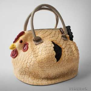 The Original Chicken Handbag -  Clucktch Bag 24.99 @ Firebox