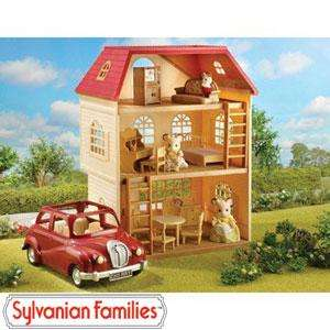 Sylvanian Families Cedar Terrace Complete Gift Set £49.99 @ Home Bargains