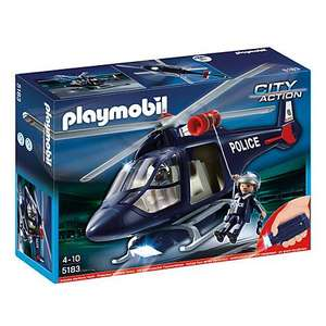 ** Playmobil Police Helicopter now £15 @ John Lewis **