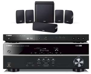 Yamaha BD Pack 196 (AV Receiver, Speakers, Active Subwoofer & Blu-ray Player) £239 @ Peter Tyson
