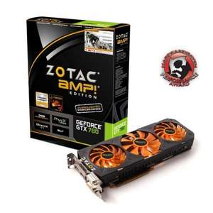 Zotac Geforce GTX 780 AMP! Edition v2 - The fastest GTX780 you can buy - £356.33 @ Scan.co.uk Plus 3 FREE games