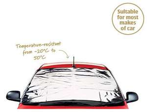 Car Windscreen Cover £1.99 @ Aldi