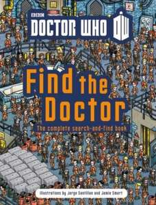 When/Where is the Doctor? (Find Dr Who) (Hardback) only £3.99 delivered @ The Book People [Contains 'When's the Doctor' and 'Where's the Doctor' books] (Possibly £3.59)