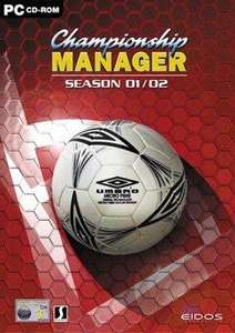 Championship Manager 01/02 Free from Eidos