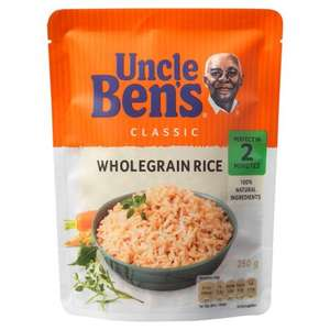 Free pack of Uncle Bens Wholegrain Rice 250g with Metro (redeem coupon at Tesco