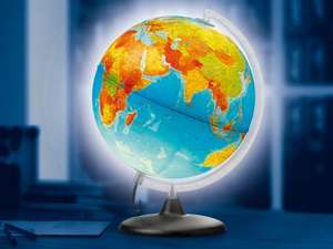 Illuminated Globe £12.99 @ Lidl from 7th Nov 2013 (This Thursday).