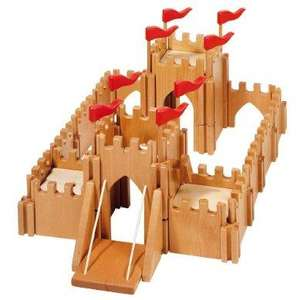 Holztiger Knight's Castle £17.18 Amazon