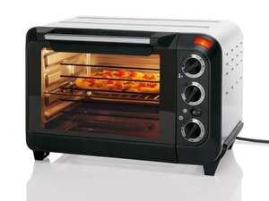 1380w Compact Mini Oven with fan - 3 yr Warranty - £29.99 instore Lidl from Monday 11th November