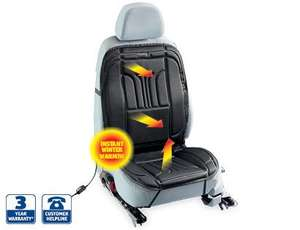 Heated Car Seat Cushion - Universal Fit - Thermostat overheat - 3yr warranty - £9.99 instore Aldi from Thur 7th Nov