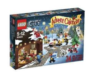 It's back to its lowest price.. LEGO City 60024: Advent Calendar  £13.33 @ amazon