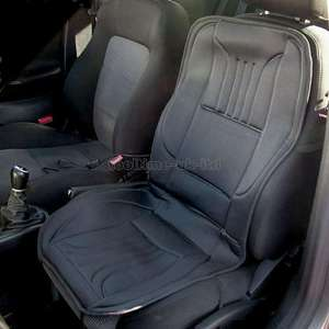 12V Heated and Padded Car Seat Cover - Universal fit - £9.99 free postage - Free Postage @ EBay (247bid_online)