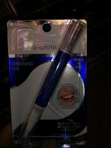 Dr. fresh Absolute White teeth whitening pen with hydrogen peroxide £1.00 @ Poundland