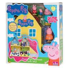 Peppa Pig Playhouse with mat £14.99 B&M
