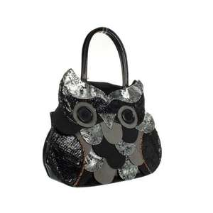 Irregular Choice Black owl design shoulder bag @ Debenhams £24.00 after code.