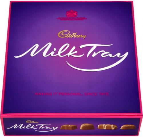 Cadbury Milk Tray Boxed Chocolate (400g) was £8.00 now 2 for £6.00 @ Sainsbury's