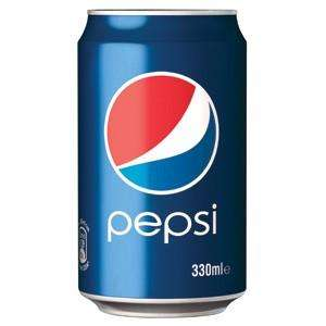 Pepsi 24x330ml £4.29+VAT at jj foods - (£5.15)