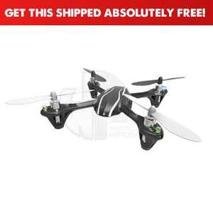 Hubsan X4 Mini Upgraded Quad Copter with LED Lights and 2.4Ghz Radio System (Ready to Fly) - H107L £34.99 @ Wirelessmadness