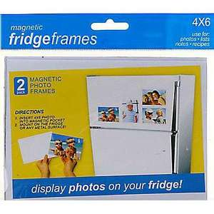 "** ASDA Fridge Frames 4R 6x4"" now 75p @ Asda Direct (Free Collection) **"