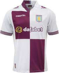 Aston Villa Credit Card with free away shirt