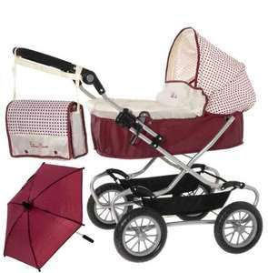 Silver Cross Classic Dolls Pram £40.00 @ Amazon