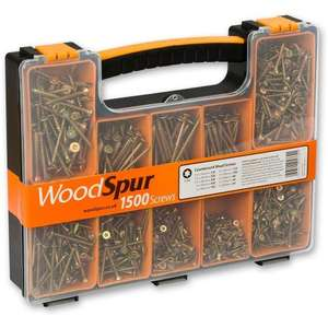 WoodSpur Torx Head Wood Screw Trade Pack £12.95  + £4.95 delivery  from Axminster
