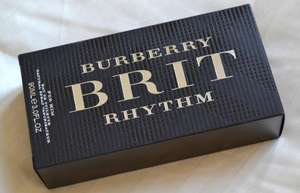Free Samples of Brit Rhythm perfume from Burberry