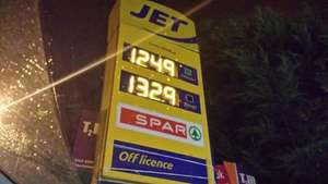 Petrol! Unleaded 124.9p Diesel 132.9p - South London sw16 2rw (Leigham court road) @ Jet