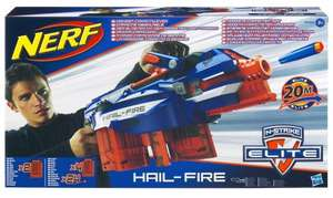 Nerf N-Strike Elite Hail-Fire  £19.99 at amazon