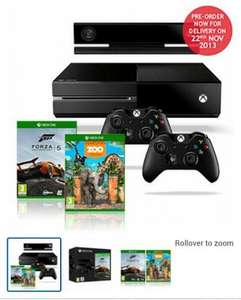 Xbox One bundle - inc Forza 5, Zoo Tycoon, &  extra controller.  Just £499.99 at Costco (for Members/Subscribers) - See OP for other details