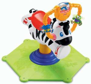 Fisher price bounce and spin zebra £26.66 delivered @ Amazon