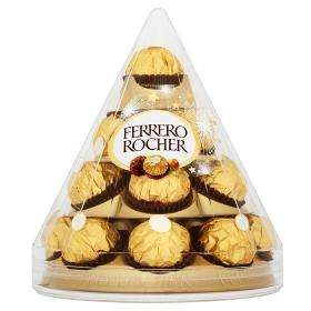 Ferrero Rocher Cone 17 Pieces 3 boxes for £10.00 @ Asda