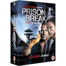 Prison Break Season 1-4 DVD boxset £20.00 @ ASDA