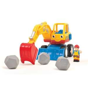 WOW Toys Dexter the Digger £13.79 delivered @ Amazon and other WOW savings in 1st post