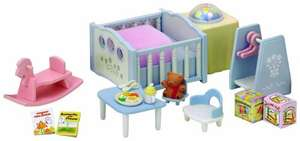 Sylvanian Families Nightlight Nursery Set £8.65 + £3.30 delivery (free if order over £10, Prime or add a book / CD)@ Amazon