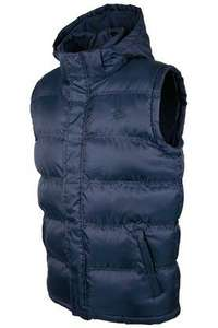 Mountain Warehouse on ebay.Elgin Mens Padded Hooded Water-Resistant Multi Pockets Sporty Casual Gilet £11.99 Delivered. @ ebay