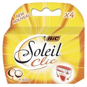 Bic Soleil Clic Lady Triple Blade Carts 4 pack 53p @ Morrisons