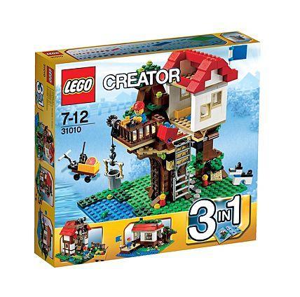 Lego Creator Treehouse 31010 £15 @ ASDA