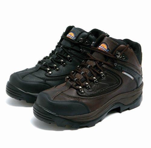 Dickies Mens Thames Super Safety Waterproof Hiker Boots Black 7
