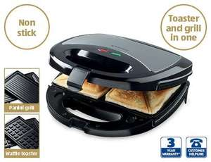 3 In 1 Sandwich Grill @ Aldi £14.99
