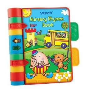 Expired - Vtech nursery rhymes book - amazon - £4.99