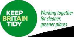 """Order Free A3 poster, support Keep Britain Tidy, """"Get Behind Us!"""""""