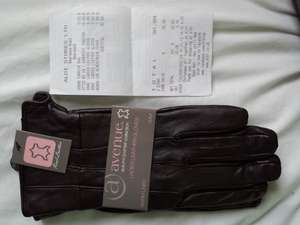 Avenue Autumn/Winter Collection Ladies Real Leather Gloves @ ALDI £6.99