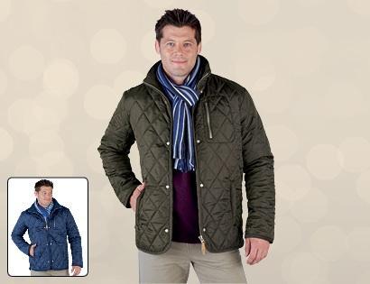 Men's quilted jacket £16.99 @ Aldi