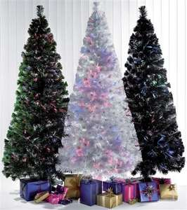 6ft Fibre Optic Christmas Tree White/Black/Green was £149.99 now £29.69 @ Studio Credit account only