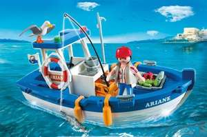 Playmobil 5131 Fishing Boat - 8.65 (Free P&P if spending over £10) @ Amazon
